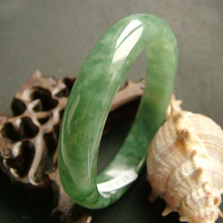 Oily Green round bangle